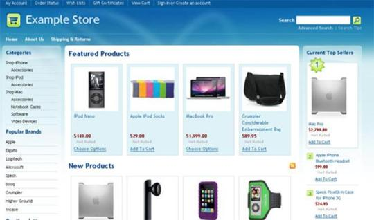 Open Source E-Commerce Shopping Carts | Wahab's Blog